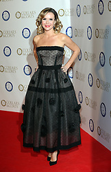 Amanda Holden arriving at the Collars & Coats Gala Ball in London, Thursday, 7th November 2013. Picture by Stephen Lock / i-Images