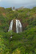 Opaekaa Falls, Wailua, Kauai, Hawaii