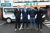 MACE gifts new minibus to local Galway club<br /> The SCCUL Sanctuary, Ballybane, Galway was announced as the winner of the MACE Win a Minibus for your local club competition. Handover of the minibus took place at McGreal&rsquo;s MACE in Ballybrit, where the SCCUL Sanctuary entered the competition. At the event were Dara Canavan, Austin Sammon, Brian Farrell and Michael Smyth General Manager SCCUL Enterprises Photo:Andrew Downes, xposure.
