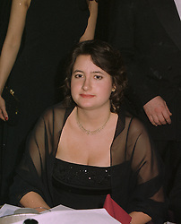 MISS CHECKA SAINSBURY a member of the supermarket family, at a ball in London on April 8th 1997.LXM 44