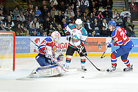 KELOWNA, CANADA, FEBRUARY 15: The Edmonton Oil Kings at the Kelowna Rockets on February 15, 2012 at Prospera Place in Kelowna, British Columbia, Canada (Photo by Marissa Baecker/Shoot the Breeze) *** Local Caption ***