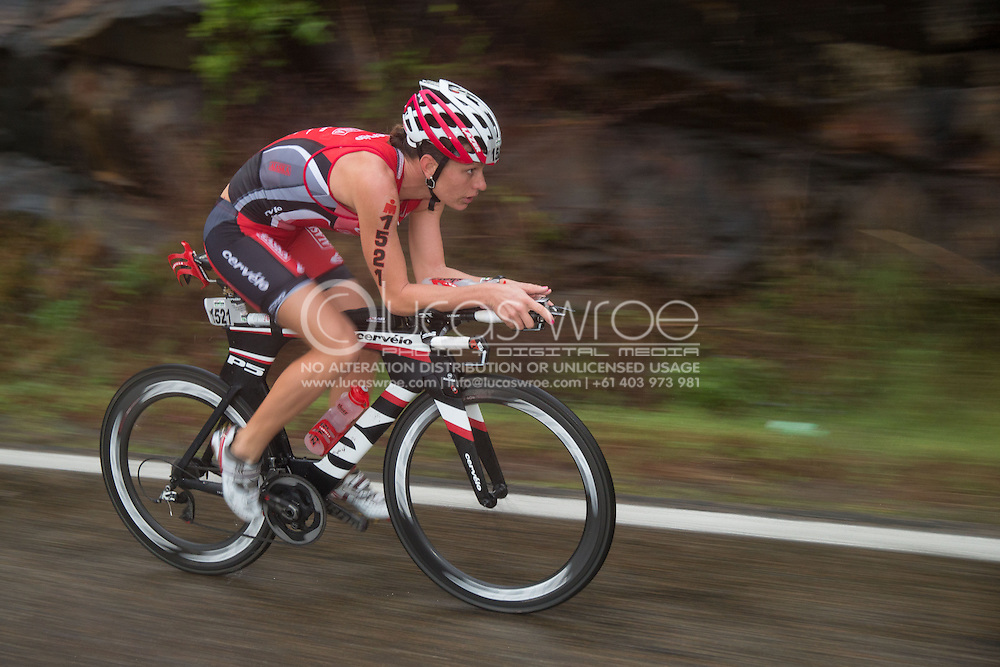 Caroline Steffen (AUS), June 8, 2014 - TRIATHLON : Ironman Cairns 70.3 / Cairns Airport Adventure Festival, Palm Cove - Captain Cook Highway - Cairns Esplanade, Cairns, Queensland, Australia. Credit: Lucas Wroe