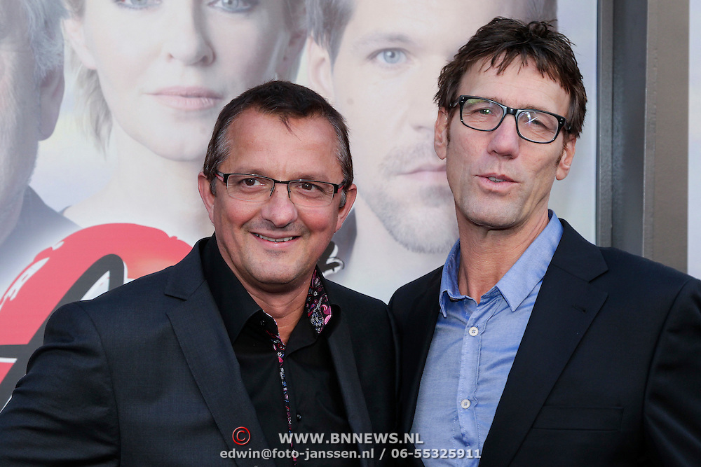 NLD/Amsterdam/20121007- Premiere Aspects of Love, Hans Schiffers en partner Rob Sol