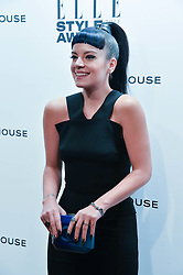 LILY ALLEN at the 17th Elle Style Awards 2014 in association with Warehouse held at One Embankment, 8 Victoria Embankment, London on 18th February 2014.