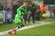 Forest Green Rovers Charlie Cooper(15) during the EFL Sky Bet League 2 match between Exeter City and Forest Green Rovers at St James' Park, Exeter, England on 26 December 2017. Photo by Shane Healey.