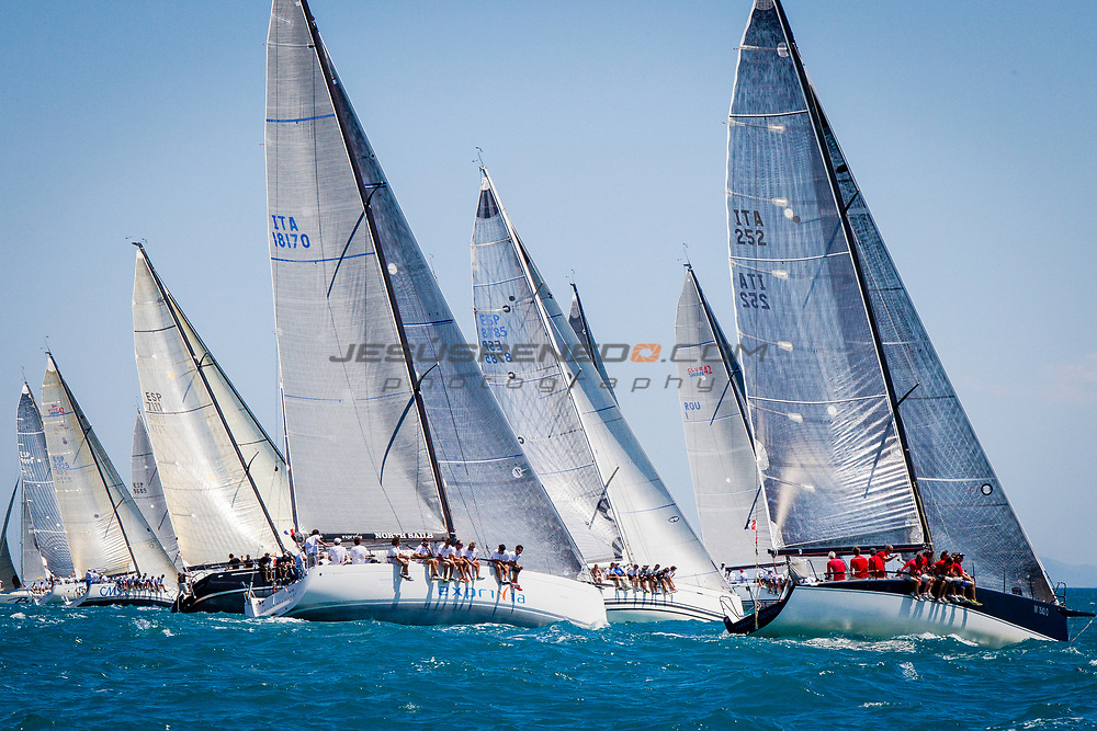 XVI TROFEO SM LA REINA - CAMPEONATO DE EUROPA DE ORC,Valencia, Spain.  Second day or racing