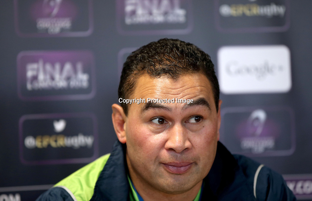 Connacht Rugby Press Conference, The Sportsground, Galway 21/5/2015<br /> Head coach Pat Lam<br /> Mandatory Credit &copy;INPHO/James Crombie