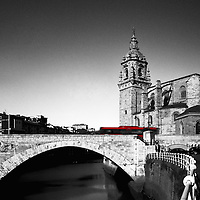 Catholic church of the late s. XV, is located near the ría (estuary) of Bilbao. The bridge of the same name it´s another symbol of Bilbao and had a historical significance as it was a obligatory route for trade between Biscay and Castile