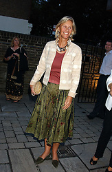 CAROLYN WATERS at the opening party of the new Frankie's Italian Bar and Grill hosted by Frankie Dettori, Marco Pierre White and Edward Taylor at 68 Chiswick High Road, London W4 on 1st September 2005.<br />