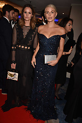 Left to right, Charlotte de Carle and Ashley James at the Chain of Hope Gala Ball held at the Grosvenor House Hotel, Park Lane, London England. 17 November 2017.<br /> Photo by Dominic O'Neill/SilverHub 0203 174 1069 sales@silverhubmedia.com