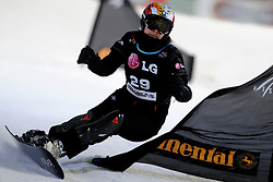 10-10-2010 SNOWBOARDEN: LG FIS WORLDCUP: LANDGRAAF<br /> First World Cup parallel slalom of the season / CUSINI Vanessa ITA<br /> ©2010-WWW.FOTOHOOGENDOORN.NL