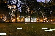 Evening in Madison Square Park
