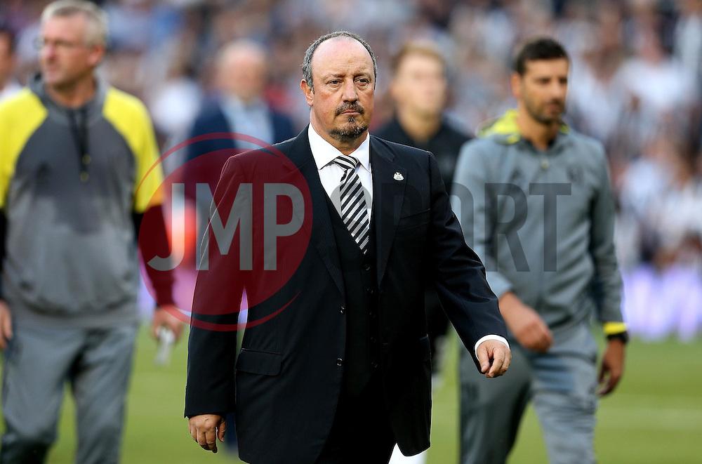 Rafa Benitez manager of Newcastle United - Mandatory by-line: Robbie Stephenson/JMP - 05/08/2016 - FOOTBALL - Craven Cottage - Fulham, England - Fulham v Newcastle United - Sky Bet Championship
