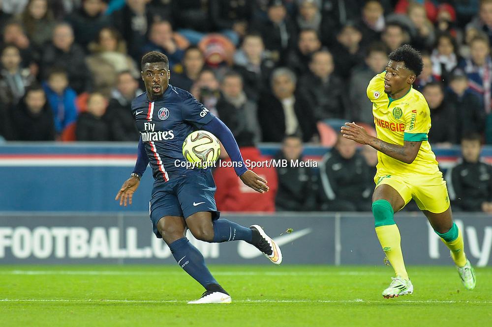 Serge Aurier - 06.12.2014 - PSG / Nantes - 17eme journee de Ligue 1<br />Photo : Andre Ferreira / Icon Sport