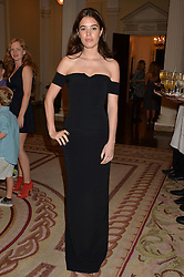 GALA GORDON at a party hosed by the US Ambassador to the UK Matthew Barzun, his wife Brooke Barzun and editor of UK Vogue Alexandra Shulman in association with J Crew to celebrate London Fashion Week held at Winfield House, Regent's Park, London on 16th September 2014.
