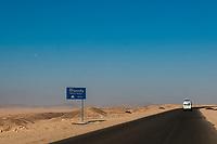 Driving to Hurghada