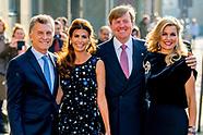 staatsbezoek argentinie aan nederland dag 2