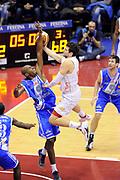 DESCRIZIONE : Milano Coppa Italia Final Eight 2014 Quarti Olimpia EA7 Milano Banco di Sardegna Sassari<br /> GIOCATORE : Alessandro Gentile <br /> CATEGORIA : penetrazione tiro<br /> SQUADRA : Olimpia EA7 Milano<br /> EVENTO : Beko Coppa Italia Final Eight 2014 <br /> GARA : Olimpia EA7 Milano Banco di Sardegna Sassari<br /> DATA : 07/02/2014 <br /> SPORT : Pallacanestro <br /> AUTORE : Agenzia Ciamillo-Castoria/N.Dalla Mura<br /> GALLERIA : Lega Basket Final Eight Coppa Italia 2014 <br /> FOTONOTIZIA : Milano Coppa Italia Final Eight 2014 Quarti Olimpia EA7 Milano Banco di Sardegna Sassari