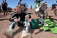 MOTORSPORT - DAKAR ARGENTINA CHILE 2011 - STAGE 4 : SAN SALVADOR DE JUJUY (ARG) / CALAMA (CHI) - 05/01/11 - PHOTO : ERIC VARGIOLU / DPPI - <br /> ULLEVALSETER PÅL ANDERS (NOR) - KTM / TEAM SCANDINAVIA - AMBIANCE PORTRAIT