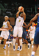 June 10, 2010; Phoenix, AZ, USA; Phoenix Mercury guard Temeka Johnson puts up a shot against Minnesota Lynx during the second half at US Airways Center.  The Mercury defeated the Lynx 99-88.  Mandatory Credit: Jennifer Stewart-US PRESSWIRE.