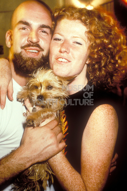 Mike and Claire from Manumission, Ibiza 1998