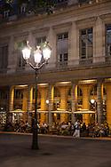 Paris , Palais royal place . cafe bar le nemours,