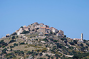 Sant' Antonino on its mountaintop.