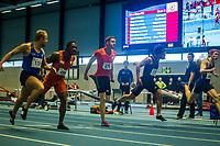 Friidrett<br /> NM Innendørs 05.03.2016<br /> Bærum Idrettspark<br /> Michael Rosenberg vinner 60m for herrer<br /> Foto: Eirik Førde/ Digitalsport