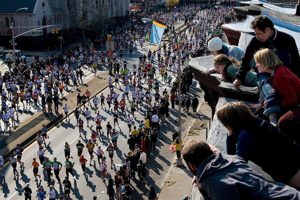 The 2006 ING New York City Marathon - Brooklyn, NY