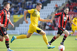 Billy Bodin of Bristol Rovers bursts through the Morecambe defence - Mandatory byline: Neil Brookman/JMP - 07966 386802 - 03/10/2015 - FOOTBALL - Globe Arena - Morecambe, England - Morecambe FC v Bristol Rovers - Sky Bet League Two