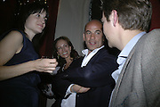 Andrea and Guy  Dellal, Party for Jean Pigozzi hosted by Ivor Braka to thank him for the loan exhibition 'Popular Painting' from Kinshasa'  at Tate Modern. Cadogan sq. London. 29 May 2007.  -DO NOT ARCHIVE-© Copyright Photograph by Dafydd Jones. 248 Clapham Rd. London SW9 0PZ. Tel 0207 820 0771. www.dafjones.com.