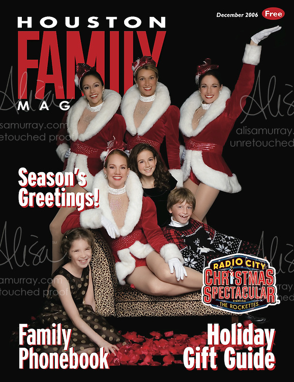Houston Family December 2006 Cover