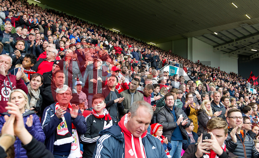 A packed Dolman Stand at Ashton Gate - Mandatory by-line: Paul Knight/JMP - 22/10/2016 - FOOTBALL - Ashton Gate Stadium - Bristol, England - Bristol City v Blackburn Rovers - Sky Bet Championship