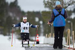 MASTERS Oksana, USA, Long Distance Biathlon, 2015 IPC Nordic and Biathlon World Cup Finals, Surnadal, Norway
