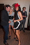 JEAN ALBERT; EVELYN TYHURST; VANESSA PERRY, London Bar & Club Awards.  Annual awards honouring the best of London nightlife, InterContinental Hotel, Park Lane, London, 12 June 2012.