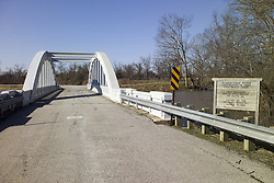Bush Creek Marsh Arch Rainbow Bridge on Old Route 66 Riverton, KS