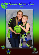 Settlers Netball Club Individual Photos 2016