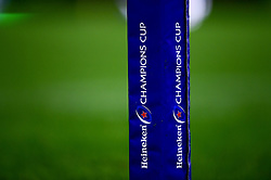 Heineken Champions Cup branding - Mandatory by-line: Ryan Hiscott/JMP - 18/01/2020 - RUGBY - Sandy Park - Exeter, England - Exeter Chiefs v La Rochelle - Heineken Champions Cup