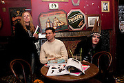 ERDEM; JACQUI POTATO, Ponystep - issue 3 launch party, George and Dragon, 2-4 Hackney Road, London, E2.  April 5 2012.