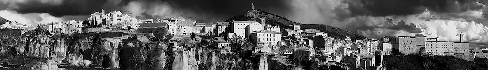 A Panorama of Cuenca, Spain