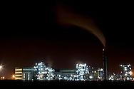 San Nicola di Melfi (PZ) 2011 - Isola Fenice. La lotta della popolazione lucana contro il termovalorizzatore Fenice.  Nella Foto: Il termovalorizzatore Fenice nell'area industriale di San Nicola di Melfi.