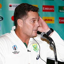 24,10,2019 South Africa Springbok team announcement