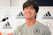 Germany head coach Joachim Low speaks at a press conference at Stadio Communale, Ascona<br /> Picture by EXPA Pictures/Focus Images Ltd 07814482222<br /> 31/05/2016<br /> ***UK &amp; IRELAND ONLY***<br /> EXPA-EIB-160531-0019.jpg