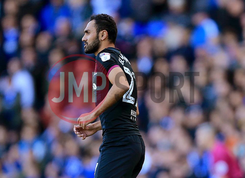 Ahmed Elmohamady of Aston Villa - Mandatory by-line: Paul Roberts/JMP - 29/10/2017 - FOOTBALL - St Andrew's Stadium - Birmingham, England - Birmingham City v Aston Villa - Skybet Championship