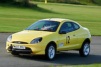 #12 Steve Riddle Ford Puma (Class 1B - Road going Series Production Saloon Cars over 1400cc up to 2000cc)  during The Autumn Sprint at Aintree Motor Racing Circuit at Aintree Circuit, Liverpool, Merseyside, United Kingdom. September 05 2015. World Copyright Taylor/PSP. Copy of publication required for printed pictures.  Every used picture is fee-liable. http://archive.petertaylor-photographic.co.uk