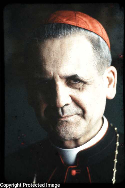 Cardinal Leger, Maclean's, portrait, man, religion, Catholic