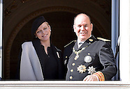 Pregnant Princess Charlene Observes Fete Nationale, Monaco