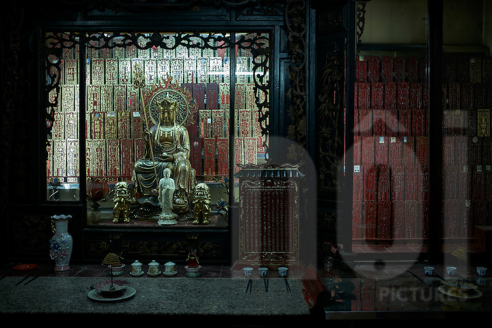 The Jade Emperor Pagoda, Mai Thi Luu Street, District 1, Ho Chi Minh City, Vietnam, Southeast Asia