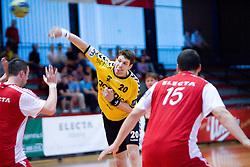 Momir Rnic at handball match of MIK 1st Men league between RD Slovan and RK Gorenje Velenje, on May 16, 2009, in Arena Kodeljevo, Ljubljana, Slovenia. Gorenje won 27:26. (Photo by Vid Ponikvar / Sportida)