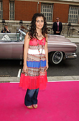 KATIE MELUA at a charity event 'In The Pink' a night of music and fashion in aid of the Breast Cancer Haven in association with fashion designer Catherine Walker held at the Cadogan Hall, Sloane Terrace, London on 20th June 2005.<br />